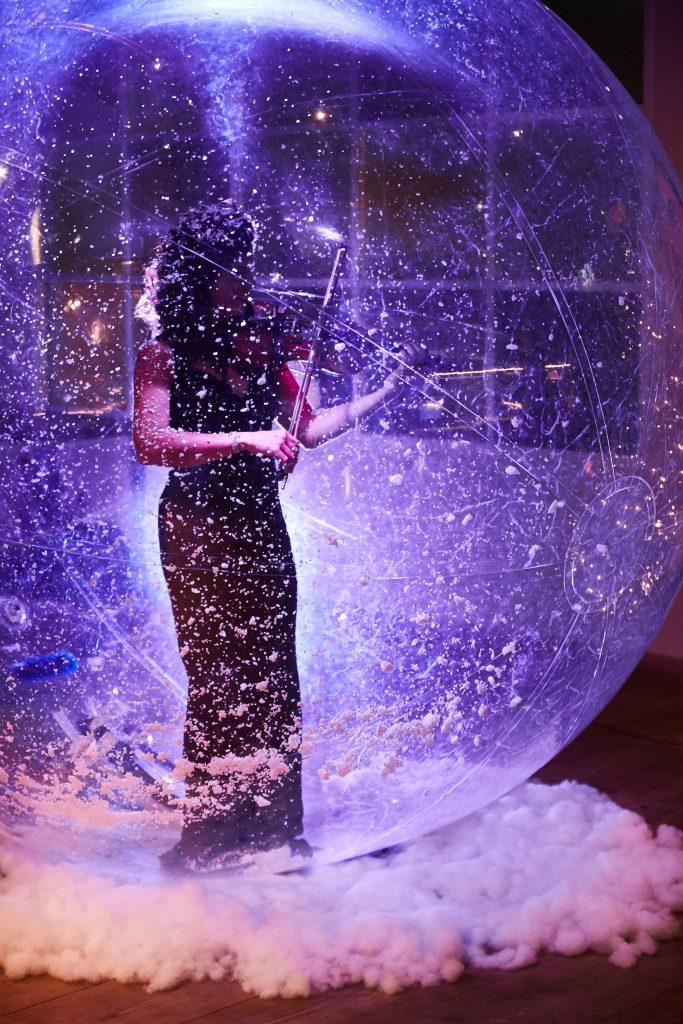 Violin in the Bubble