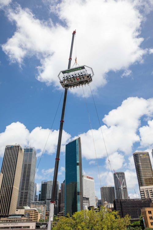 Flying Ruby - 1800 Tequila Brand Activation - Dining Experience in the Sky